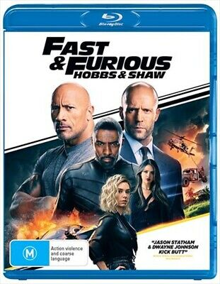 Fast and Furious - Hobbs and Shaw : NEW Blu-Ray