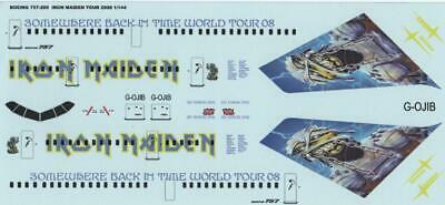 IRON MAIDEN☆ ED Force One Magnet ☆ Airplane statistics