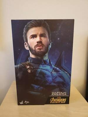 Hot Toys MMS480  Avengers: Infinity War 1/6 Captain America Figure NEW IN STOCK
