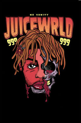 T-302 Juice WRLD New Hip Hop Rap Music Star 02 Art Poster Silk 30 24x36
