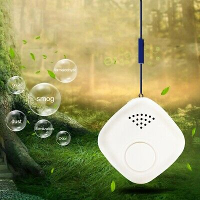 Wearable Air Purifier Cleaner Portable Negative Ion Air Freshener Remove FoN1A5