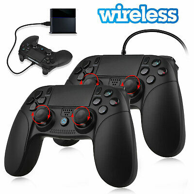 For PS4 Wired/Wireless Bluetooth Game Controller Remote Control Gamepad Joypad