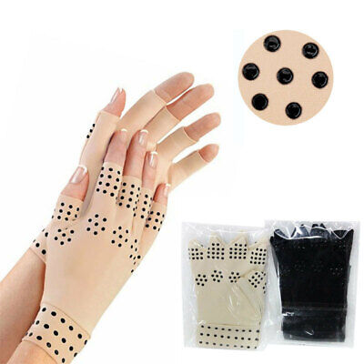 Magnetic Anti Arthritis Gloves Hand Support Joint Finger Compression Pain Relief