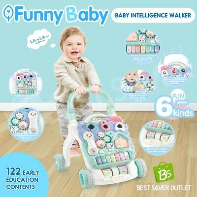 Baby Intelligence Walker Funny Baby Steps Toddler Activity Learning Play Center