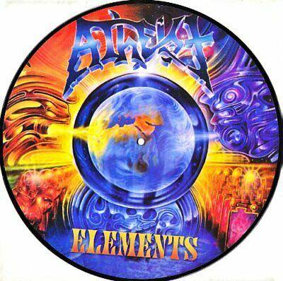ATHEIST - Elements (picture Disc) - CD - Original Recording Remastered - **NEW**
