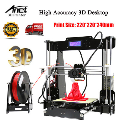 Anet A8 Impresora 3D DIY Profesional Alta Precisión Desktop Printer​ V1 version