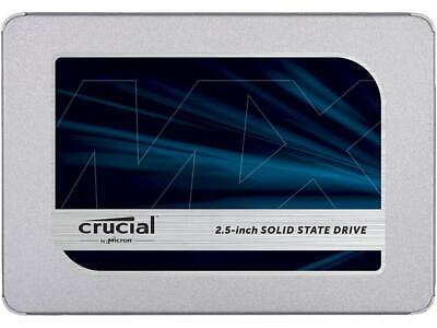 "Crucial MX500 2.5"" 500GB SATA III 3D NAND Internal Solid State Drive (SSD) CT500"