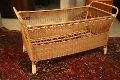 Small Bed Child in Bamboo and Rattan
