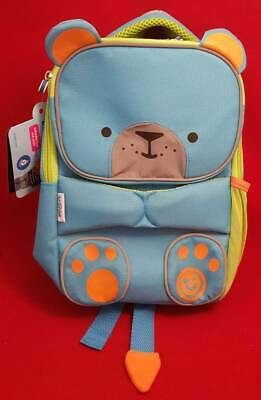 Trunki ToddlePak BackPack BERT Blue Green Reflective Animal Toddler Nursery