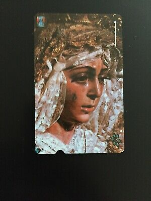 Crying Madonna Plessey Telephone Card GPT