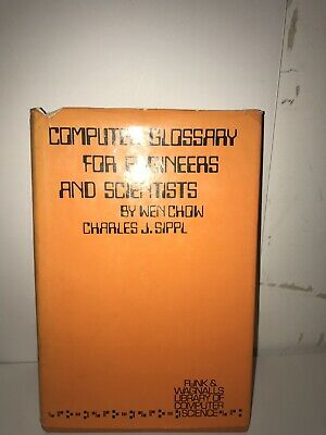 Vintage Computer Glossary For Enginners And Scientists (1972)
