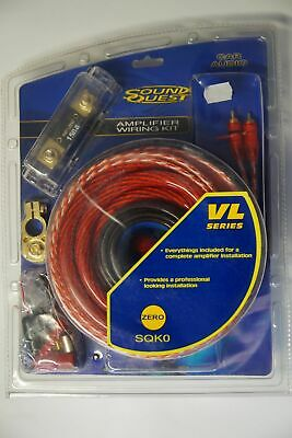 Car Hifi-Auto Kabel-Set, AMP KIT 50 mm², B-Ware