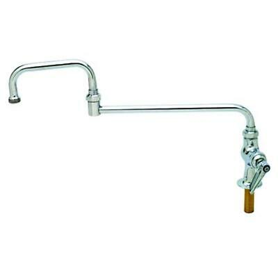 "T&S Brass B-0255 18"" Double Joint Deck Mount Pantry Faucet"