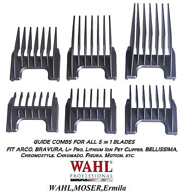 Wahl Attache Guide Peigne pour Chromstyle, Easystyle, Beretto 5 IN 1 Ongle Lame