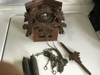 German cuckoo clock, Black Forest , for parts