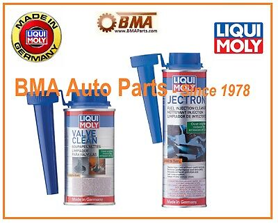 Liqui Moly Fuel Injection Cleaner Kit - 2007 FI Cleaner & 2001 Valve cleaner
