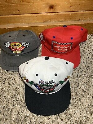 Lot of 3 Racing Hats