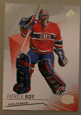 Patrick Roy 2015-16 SP Authentic #85 - Montreal Canadiens' Goalie Legend