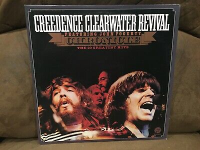 CREEDENCE CLEARWATER REVIVAL classic vinyl ~ GREATEST HITS ~ LP record VG+