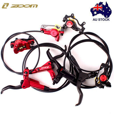 MTB Bike Hydraulic Disc Brake Front Rear Lever Calipers Rotors Disc Brake Set AU