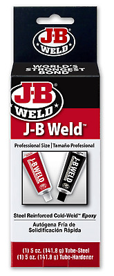 J-B Weld 8280 Original Professional Size Steel Reinforced Epoxy - 10 oz.