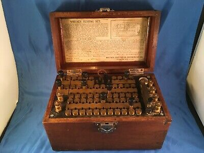 Rare - Whitney Electrical Instrument - Testing Set - Resistance - Dated 1907