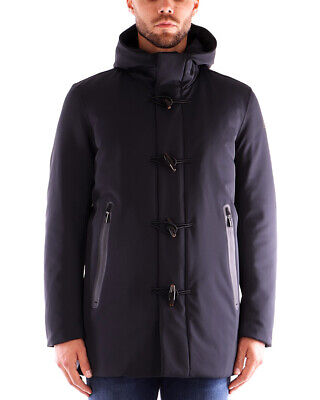 Cappotto uomo RRD DOWN UNDER COAT W19017 colore blu scuro 60 Blue Black