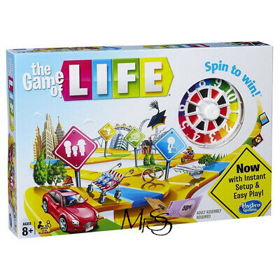 Hasbro The Game of Life *  Brand New in Box  * Game of Life