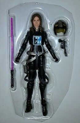 "Star Wars Black Series Wave 14 #56 JAINA SOLO Loose 6"" Figure Hasbro 2018"