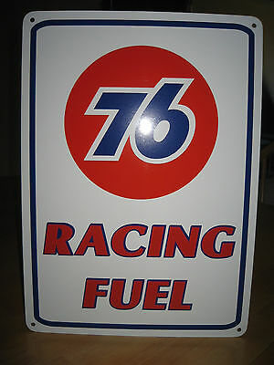 UNION 76 Racing Fuel Gas Pump SIGN Service Station unicol oil Ad Logo Free Ship