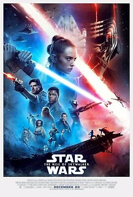 "Star Wars The Rise Of Skywalker Poster - Star Wars Movie Poster 11"" x 17"" DISNEY"