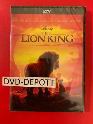 Lion King DVD (2019 LIVE) AUTHENTIC W/DISNEY REWARDS INSERT READ DESCRIPTION