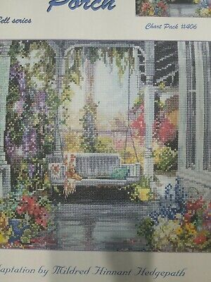 Anchor Counted Cross Stitch Chart ☆ Brenda's Porch ☆ VGC ☆ No 406 by Pegasus