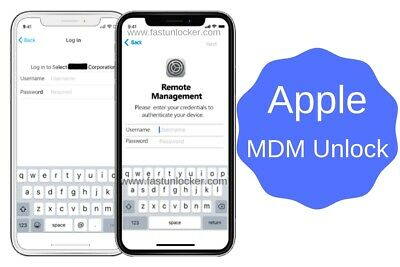 APPLE MDM BYPASS IPHONE /IPAD /IPOD  ALL iOS  SUPPORTED [INSTANT]