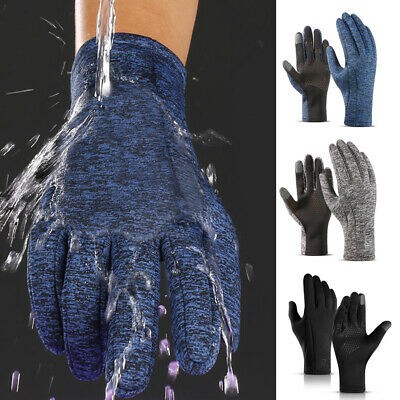 Men's Women's Winter Warm Smartphone Touch Screen Gloves Mittens Outdoor Sports