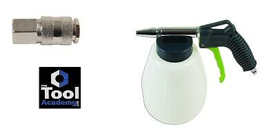 Soda Blasting Gun Pistol Without Damaging Substrate + Air Universal Connector