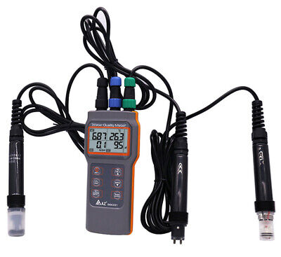 Aquaculture Water Quality Dissolved Oxygen Tester PH/Conductivity/Sality Meter
