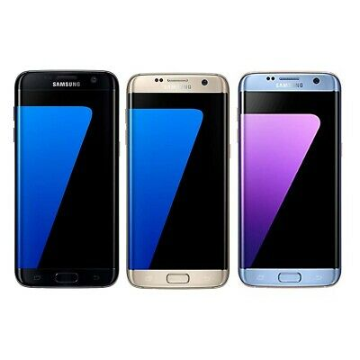 New Sealed Box Samsung Galaxy S7 Edge G935F LTE 4G Mobile 32GB Factory Unlocked