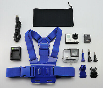 Gopro Hero 3+ Plus Silver Edition Camcorder 1080P Hd Action Video Camera