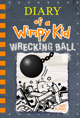SOFTCOVER Diary of a Wimpy Kid: Wrecking Ball Book 14 *IN STOCK* *BUY NOW*