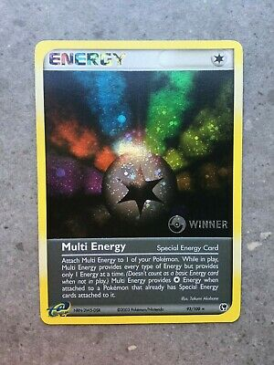 Pokemon Promo Holo MULTI ENERGY *WINNER 93//109 NM NM