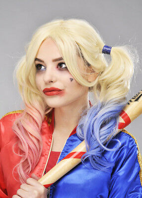 Suicide Squad Style Harley Quinn Wig