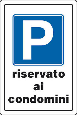 Sign 30x20 P.Parking Reserved Condos