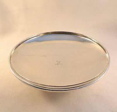 "Beautiful Tiffany & Co Sterling Compote-7 1/8""-Mono H"