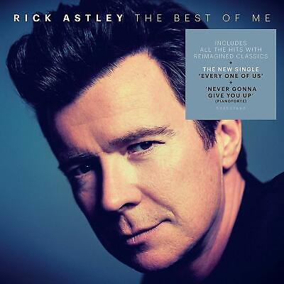 RICK ASTLEY THE BEST OF ME 2-CD (Greatest Hits) (Released October 25th 2019)