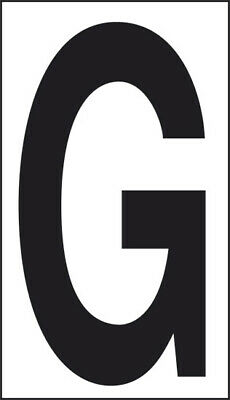 Adhesive 10x5, 6 Letter G