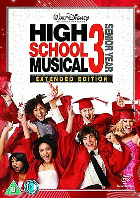 High School Musical 3: Senior Year  with Zac Efron Dvd New/Sealed
