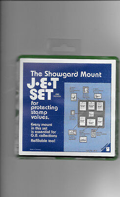 SHOWGARD MOUNTS MIXED SIZE FOR GB black pack of 280