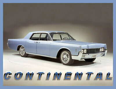 40 Mil 1958 Lincoln Continental Mark III Refrigerator Magnet