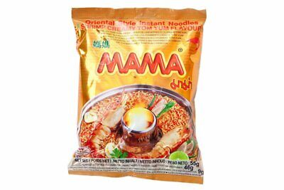 Mama Instant Noodle Shrimp Creamy (Tom Yum) Flavour 60G Pack of 5 packs